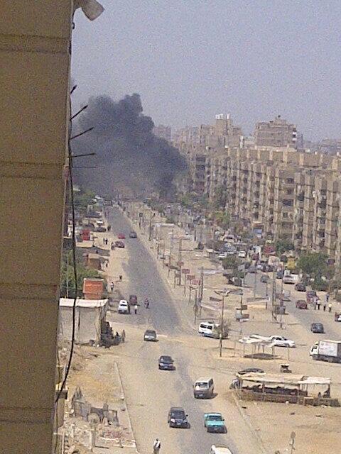تفجير امام منزل وزير الداخلية