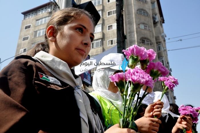 زهرات فلسطين وورود