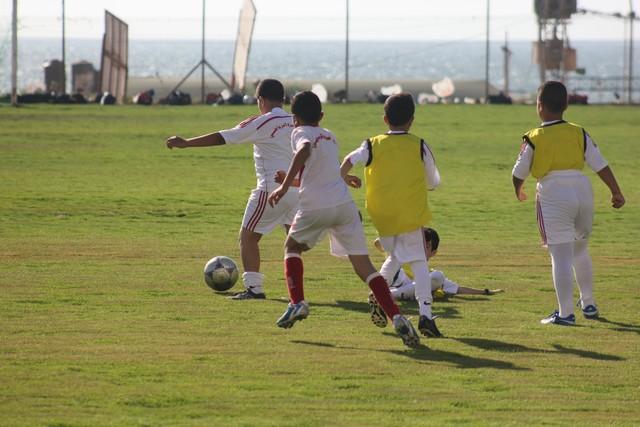أكاديمية غزة الرياضي للناشئين (2)