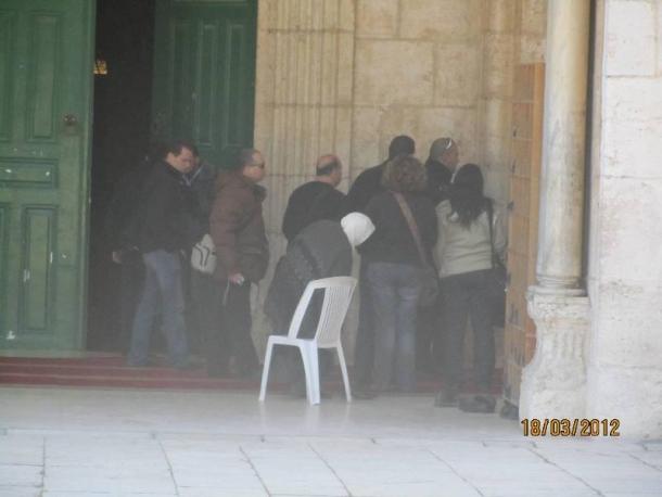 اقتحام الاقصى من قبل الاحتلال