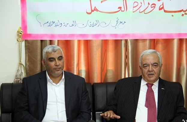 وزير العمل أبو شهلا