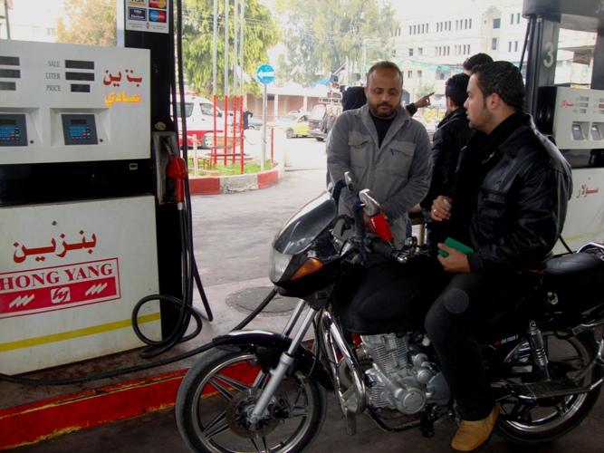 محطات الوقود بغزة