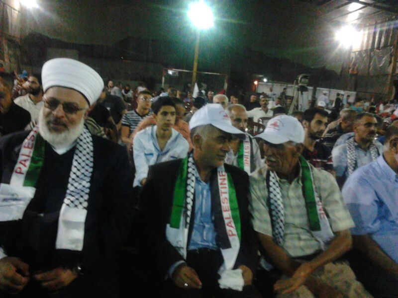 احتفال في لبنان بيوم القدس العالمي