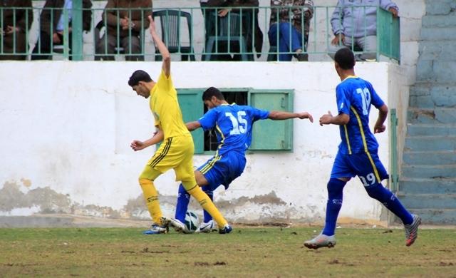كأس غزة شباب جباليا وخدمات النصيرات