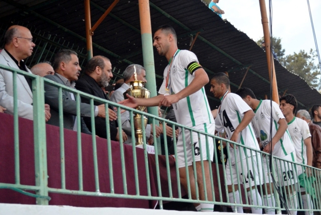 نهائي كأس غزة خدمات رفح واتحاد الشجاعية (9)
