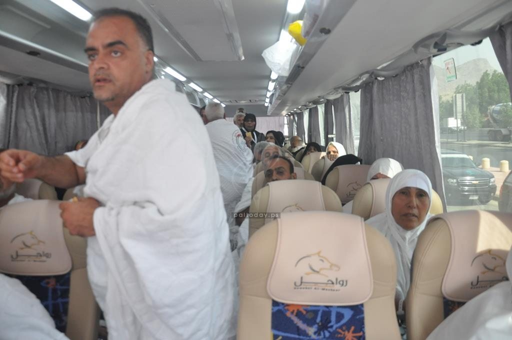 وصول حجاج مكرمة خادم الحرمين