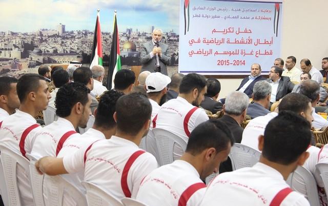 أمواج تكرم أبطال الموسم الرياضي في غزة (7)