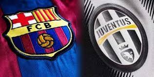برشلونة ويوفنتوس في دوري أبطال أوروبا